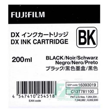 FUJI DX100 INKCART. BLACK  70100111585 200ml