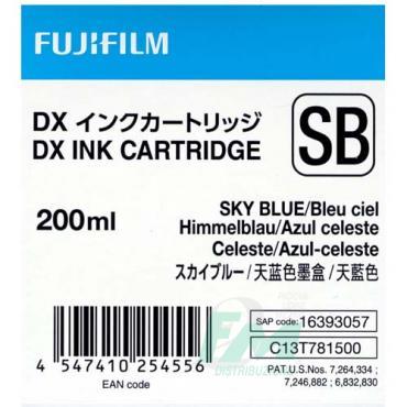 FUJI DX100 INKCART. SKYBLUE  70100111586 200ml