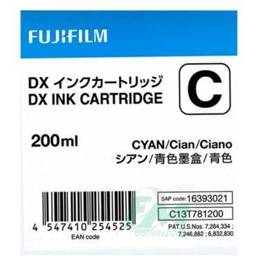 FUJI DX100 INKCART. CYAN  70100111582 200ml