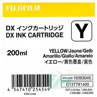 FUJI DX100 INKCART. YELLOW  70100111584 200ml