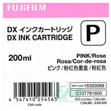 FUJI DX100 INKCART. PINK  70100111587 200ml