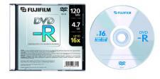 FUJI DVD-R SLIM CASE X10PZ 48343