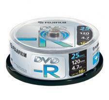 FUJI DVD-R X25 PZ CAMPANA 47495