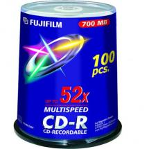 FUJI CD-R 80M 700mb BOX 100 PZ