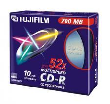 FUJI CD-R 80 M 700 SLIM X10PZ 47444