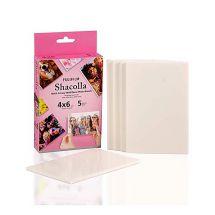 FUJI INSTAX SHACOLLA 4X6'  BOX 5PZ 101.6x152.4mm