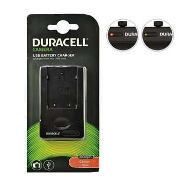 DURACELL CARICA CANON NB-2L  USB DRC5907                 *