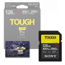 SONY SDHC128GB TOUGH UHS-II  300/299 MB/s U3 G V90 SFG1TG
