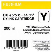 FUJI DX100 INKCART. YELLOW  70100111584 200ml