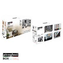 PICOGLASS BOX 9PZ ARGENTO