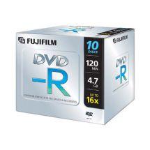 FUJI DVD-R 16X 10 PZ JEWELCASE 47586