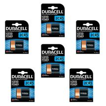 DURACELL DL 245 ULTRA X6 PZ  (2CR5)